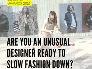 MSKPU partnerem Sustainable Fashion Awards 2018 – zachęcamy do zgłaszania projektów