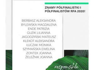 Znamy półfinalistki i półfinalistów Responsible Fashion Awards 2020!