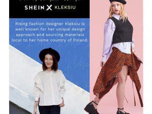 Nasza absolwentka projektuje dla międzynarodowego giganta – SHEIN!