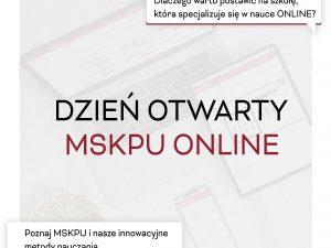 Pierwszy Dzień Otwarty MSKPU 2021 za nami!